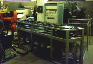 Ex-IBM conveyor, control cabinet and robot