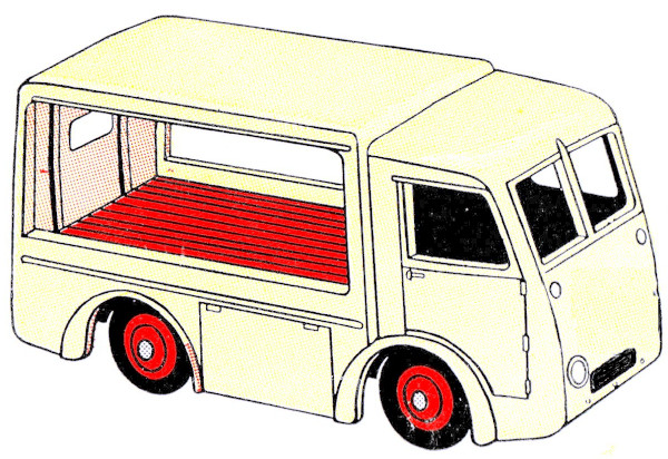 sketch of a milk float